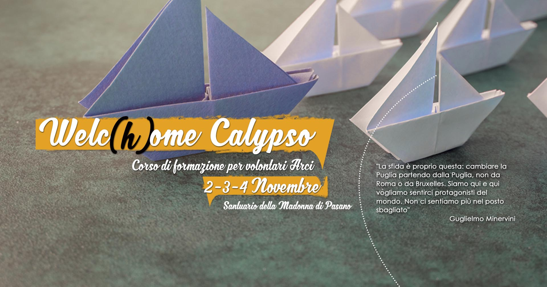 WelcHome Calypso – sito web – slide