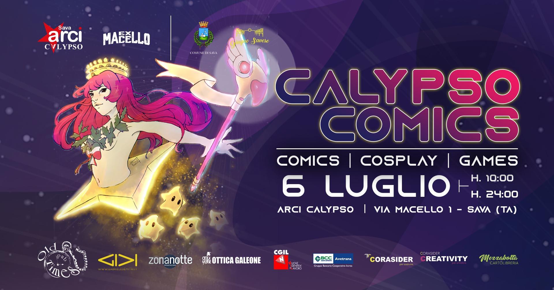Calypso Comics 22019 – slide